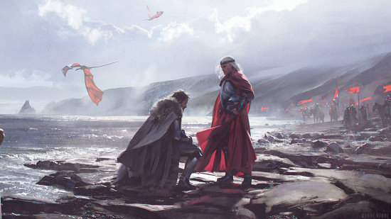 (Artist: Chase Stone via The World of Ice & Fire)
