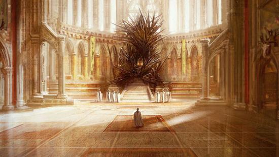 The Iron Throne of the Targaryen kings